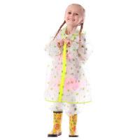 户外 儿童雨衣雨裤套装男童女童带书包位小孩学生斗篷雨披
