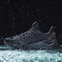 361男鞋�\�有�2019冬季新款361度�W面保暖��鞋舒�m�C�鞋跑步鞋