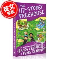 现货 小屁孩树屋历险记 英文原版 The 117-Storey Treehouse 117层疯狂树屋历险记 桥梁章节书