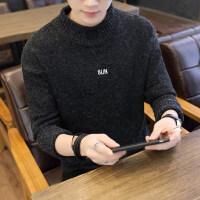 男士毛衣男秋季2018新款韩版潮流针织衣秋冬加厚青年半高领毛衣男