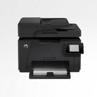 惠普HP177fw彩色激光有无线网络复印扫描传真一体打印机