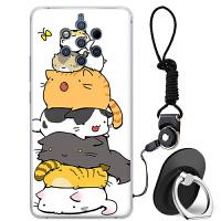 诺基亚9手机壳新款9pureview保护套nokia c9卡通个性T防摔全包潮牌女软硅胶