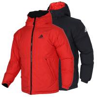 Adidas阿迪达斯男装运动羽绒服保暖夹克外套EH4011