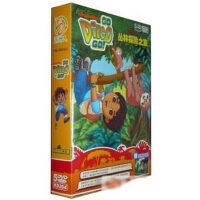 正版现货朵拉表哥迪亚哥DVD丛林探险之旅5DVD中英双语10集送拼图
