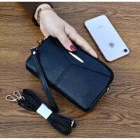 女包2018新款斜跨手拿包手机包迷你两用小包包 女贝壳包零钱包