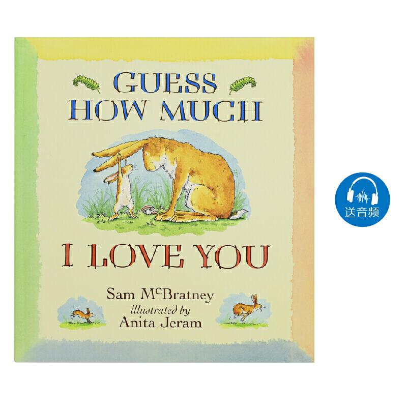Guess How Much I Love You 猜猜我有多爱你 廖彩杏书单 情商启蒙 亲子共读 儿童英语进口读物故事书 英文原版图书绘本