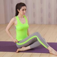 瑜伽服运动套装女运动背心女跑步健身房专业速干衣紧身带胸垫