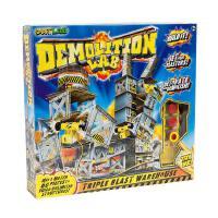 英文原版 爆破实验室 STEM教育 科学互动 SmartLab玩具书 物理学 能量 动力 重力 Demolition