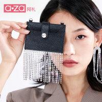 阿札包包女2019新款女包ins韩版chic时髦单肩斜挎包女零钱包卡包