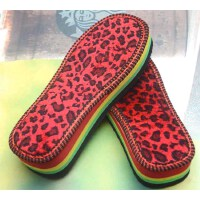 泡沫鞋底加厚防滑耐磨手工拖鞋底棉鞋底毛线钩针勾鞋底子。