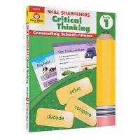 Evan-Moor Skill Sharpeners Critical Thinking Grade 1 小学一年级批