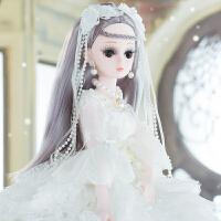 大号洋娃娃衣服女孩仿真公主仙子娃娃大礼服裙
