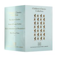 Children's Classics Collection 经典儿童文学精装收藏4册 英文原版 绿山墙的安妮 安徒生童