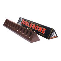 Toblerone瑞士三角 亿滋进口 黑巧克力含蜂蜜及巴旦木糖100g (瑞士进口) 休闲零食