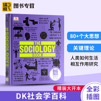 DK社会学百科图解 英文原版 The Sociology Book 人类的思想百科丛书 Big Ideas Simply