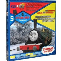 托马斯&朋友5(2DVD 书)动画片 正版DVD小火车托马斯和他的朋友们