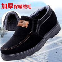 №【2019新款】冬天老年人穿的老北京男士棉鞋休闲男款中老年人爸爸鞋