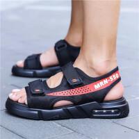 201908290356586492019新款夏季凉鞋男士休闲沙滩潮流韩版室外凉拖外穿防滑两用拖鞋