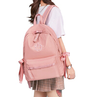双肩包女中学生书包大学生大容量休闲旅行背包