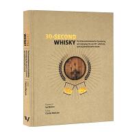 30秒读科普 威士忌 30 Second Whisky 英文原版 英文版进口原版英语书籍