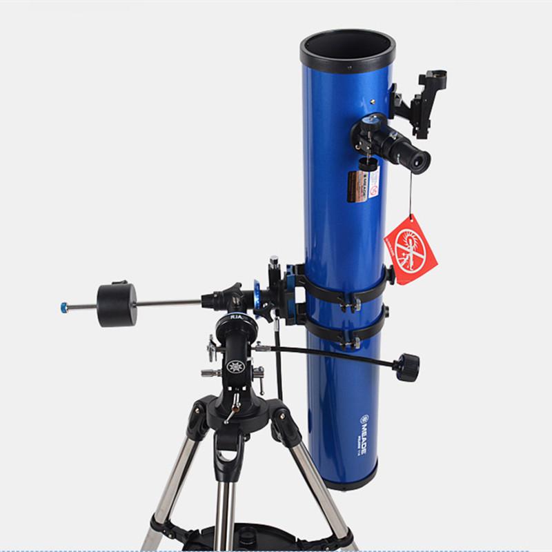 买一送三 米德天文望远镜114EQ 114/1000大口径反射天文望远镜推荐深空星云摄影