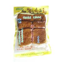 安徽特产百素园110*5袋牛肉味/香辣味休闲茶干五香茶干 开袋即食 小菜