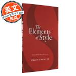 风格的要素 英文原版 The Elements of Style 英语写作手册【近一个世纪以来流传最为广泛的英语写作手