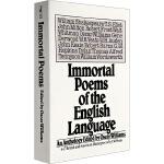 不朽英语诗歌 英文原版 Immortal Poems of the English Language 英文小说 华研原