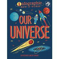 英文原版 Infographic信息图系列 宇宙是如何运作的 儿童科普 How It Works: Our Universe 纽约时报