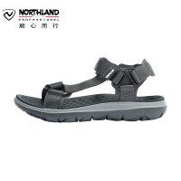 【顺心而行】诺诗兰19新款男士防滑耐磨透气凉鞋休闲运动沙滩鞋FS085004