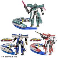 新干线变形机器人金刚合体模型TOMICA男孩火车侠玩具