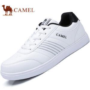 【领券下单立减111元】camel骆驼男鞋 春季新品 运动休闲系带板鞋男街头时尚滑板鞋