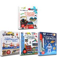 英文原版 The Ultimate Book of Cities/Space/Vehicles/Airplanes a