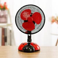 小型电风扇电源式迷你风扇学生宿舍床上小电扇办公室家用台式静音