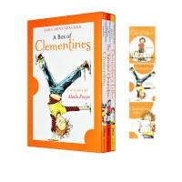 Clementine 淘气的阿柑英文原版 Sara Pennypacker 萨拉・潘尼派克 小学课外阅读桥梁章节书