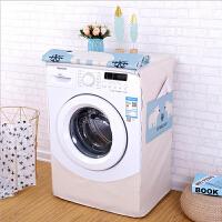滚筒洗衣机罩棉麻防水防尘洗衣机罩全自动洗衣机套