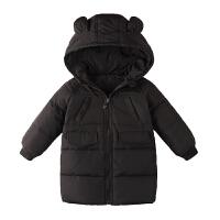 儿童羽绒服男童中长款中大童冬装外套