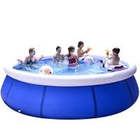 儿童充气游泳池户外超大号婴儿洗澡桶加厚大型成人小孩家用戏水池