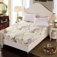 床笠全棉单件纯棉席梦思床垫保护套1.8m床套床单1.5m床罩1.2米床