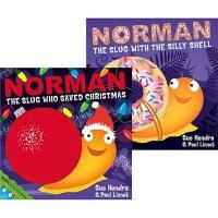 【预售】Norman the Slug Who Saved Christmas the Slug with the Si