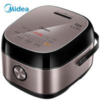 美的(Midea)电饭煲电饭锅4L智能预约IH电磁加热触摸操控一键香浓粥电饭煲 HS4075