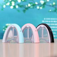 七色彩虹夜灯荧光留言板USB静音加湿器大容量办公卧室净化器