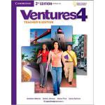 【预订】Ventures Level 4 Teacher's Edition