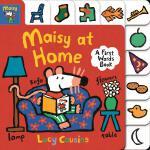 英文原版 小鼠波波在家 学单词纸板书 低幼启蒙认知 Maisy at Home: A First Words Book