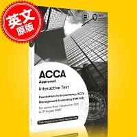 现货 ACCA考试 新版 管理会计 教材 英文原版 Management Accounting Interactive