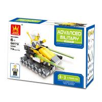 万格积木玩具 星际战队 益智儿童玩具塑料拼装