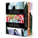 Coraline 鬼妈妈 英文原版小说 青少年 10 15岁 The Graveyard Book 坟场之书 尼尔盖曼