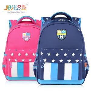 韩版潮可爱休闲书包小学生1-3年级双肩包男女6-12儿童双肩包