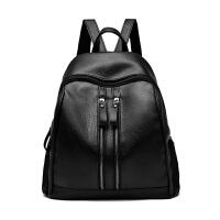双肩包女包韩版潮新款时尚休闲百搭软皮包包2018书包女士背包