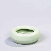 思故轩 汝窑汝瓷时尚创意烟灰缸实用家居办公摆件陶瓷烟缸